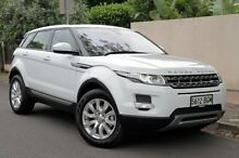 2014 Land Rover Range Rover Evoque L538 MY15 White 9 Speed Auto Seq Sportshift Wagon Eastwood Burnside Area Preview