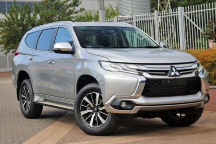 2016 Mitsubishi Pajero Sport QE MY16 Exceed Silver 8 Speed Sports Automatic Wagon Wayville Unley Area Preview