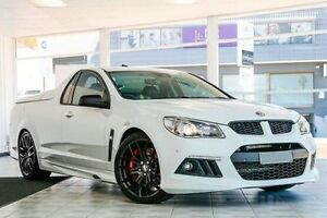 2013 Holden Special Vehicles Maloo GEN-F MY14 R8 White 6 Speed Manual Utility Victoria Park Victoria Park Area Preview