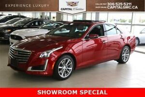 2017 Cadillac CTS Sedan Luxury Collection AWD*Sunroof-Cue with N