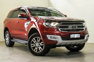 2015 Ford Everest UA Trend Red 6 Speed Sports Automatic Wagon Osborne Park Stirling Area Preview