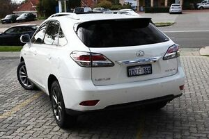 2012 Lexus RX350  White Sports Automatic Wagon St James Victoria Park Area Preview