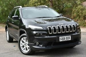 2014 Jeep Cherokee KL Longitude Black 9 Speed Sports Automatic Wagon St Marys Mitcham Area Preview