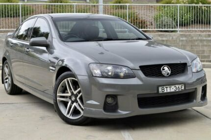 2010 Holden Commodore VE II SV6 Grey 6 Speed Sports Automatic Sedan Lisarow Gosford Area Preview
