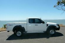 2009 Ford Ranger PK XL Super Cab White 5 Speed Manual Utility South Gladstone Gladstone City Preview