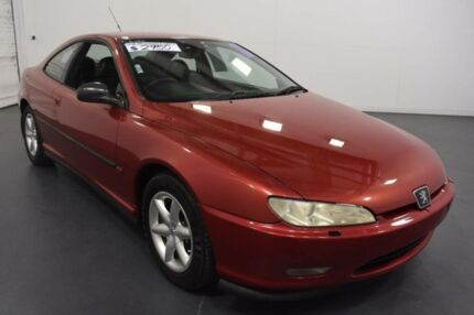 1998 Peugeot 406 D8 Burgundy 4 Speed Automatic Coupe