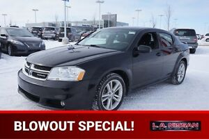 2012 Dodge Avenger SXT Accident Free,  Heated Seats,  A/C,