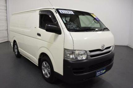 2009 Toyota Hiace TRH201R MY07 Upgrade LWB White Solid 4 Speed Automatic Van