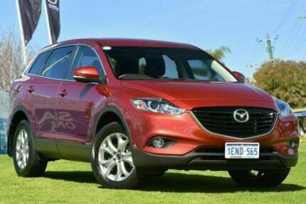 2014 Mazda CX-9 TB10A5 Classic Activematic Red 6 Speed Sports Automatic Wagon