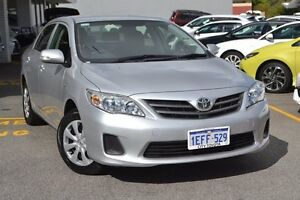 2013 Toyota Corolla ZRE152R Ascent Silver Pearl 4 Speed Automatic Sedan Claremont Nedlands Area Preview