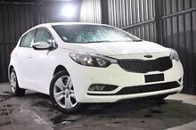 2016 Kia Cerato YD MY16 S Clear White 6 Speed Sports Automatic Hatchback Wangara Wanneroo Area Preview