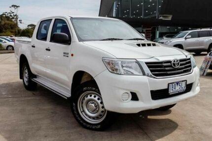 2014 Toyota Hilux White Automatic Utility