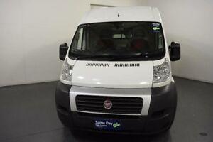 2013 Fiat Ducato Series II MY12 Mid Roof XLWB MTA White Sports Automatic Single Clutch Van