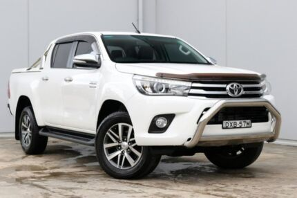2015 Toyota Hilux GUN126R SR5 Double Cab White 6 Speed Sports Automatic Utility Liverpool Liverpool Area Preview