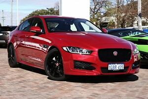 2015 Jaguar XE X760 MY16 20D R-Sport Red 8 Speed Sports Automatic Sedan Osborne Park Stirling Area Preview