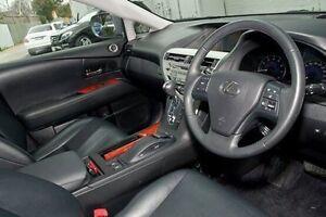 2011 Lexus RX350 Grey Sports Automatic Wagon Burwood Whitehorse Area Preview