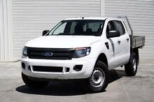 2012 Ford Ranger  White Sports Automatic Cab Chassis Cranbourne Casey Area Preview