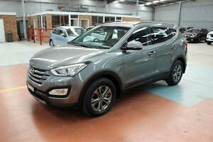 2014 Hyundai Santa Fe DM MY14 Active Grey 6 Speed Sports Automatic Wagon Maryville Newcastle Area Preview