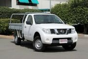 2011 Nissan Navara D40 RX White 6 Speed Manual Cab Chassis Acacia Ridge Brisbane South West Preview