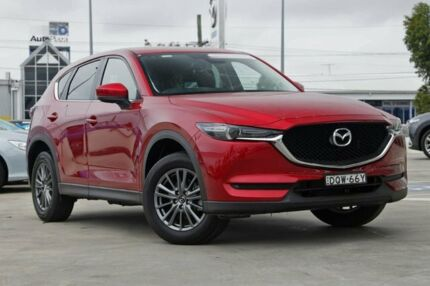 2017 Mazda CX-5 KF4WLA Touring SKYACTIV-Drive i-ACTIV AWD Soul Red 6 Speed Sports Automatic Wagon Kirrawee Sutherland Area Preview