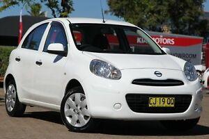 2012 Nissan Micra K13 Upgrade ST-L White 4 Speed Automatic Hatchback Zetland Inner Sydney Preview