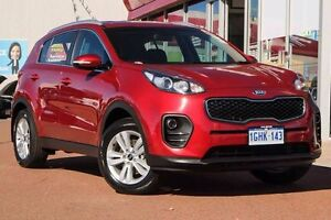 2016 Kia Sportage QL MY16 Si 2WD Red 6 Speed Sports Automatic Wagon Glendalough Stirling Area Preview
