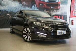 2012 Kia Optima TF MY13 Platinum Black 6 Speed Automatic Sedan Rockingham Rockingham Area Preview