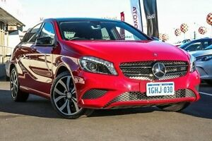 2015 Mercedes-Benz A180 176 MY15 BE Red 7 Speed Automatic Hatchback Glendalough Stirling Area Preview