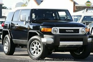 2013 Toyota FJ Cruiser GSJ15R Black 5 Speed Automatic Wagon Willagee Melville Area Preview