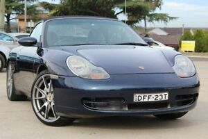 1999 Porsche 911 Carrera 4 Blue 5 Speed Tiptronic Cabriolet Lansvale Liverpool Area Preview