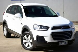 2016 Holden Captiva CG MY16 LS 2WD White 6 Speed Sports Automatic Wagon Seaford Frankston Area Preview