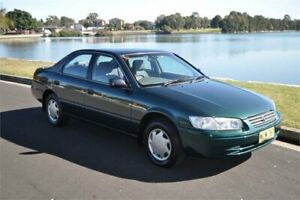 1999 Toyota Camry SXV20R CSi Green 4 Speed Automatic Sedan Five Dock Canada Bay Area Preview