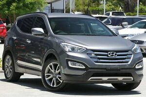2013 Hyundai Santa Fe DM MY13 Elite Grey 6 Speed Sports Automatic Wagon Toowong Brisbane North West Preview