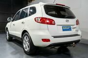 2009 Hyundai Santa Fe CM MY09 Upgrade Elite CRDi (4x4) White 5 Speed Automatic Wagon Woodridge Logan Area Preview