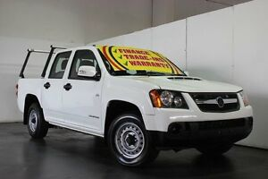 2010 Holden Colorado RC MY11 LX (4x2) White 5 Speed Manual Cab Chassis Underwood Logan Area Preview