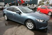 2013 Mazda 6 GJ1031 Touring SKYACTIV-Drive Blue 6 Speed Sports Automatic Sedan Kingsville Maribyrnong Area Preview