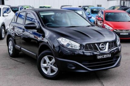 2011 Nissan Dualis J10 Series II MY2010 ST Hatch X-tronic Black 6 Speed Constant Variable Hatchback