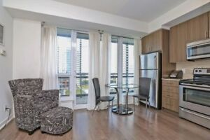 Fully Furnished, Absolutely Gorgeous,Bright & Spacious Studio