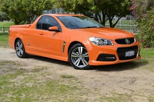 2013 Holden Ute VF MY14 SS Ute Orange 6 Speed Sports Automatic Utility Claremont Nedlands Area Preview