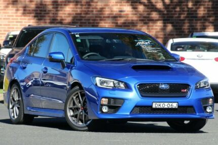 2016 Subaru WRX MY17 STI Premium WR Blue 6 Speed Manual Sedan