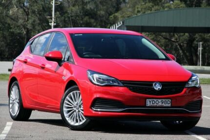 2016 Holden Astra BK MY17 R Red 6 Speed Sports Automatic Hatchback