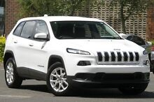 2015 Jeep Cherokee KL MY16 Sport (4x2) Bright White 9 Speed Automatic Wagon Zetland Inner Sydney Preview