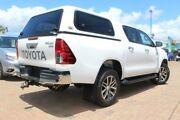 2017 Toyota Hilux GUN126R SR5 Double Cab White 6 Speed Sports Automatic Utility Parramatta Park Cairns City Preview