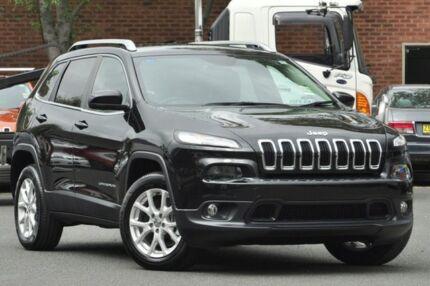 2014 Jeep Cherokee KL MY15 Longitude (4x4) Brilliant Black 9 Speed Automatic Wagon Zetland Inner Sydney Preview