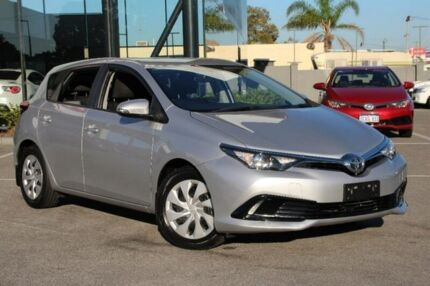 2015 Toyota Corolla Silver Constant Variable Hatchback St James Victoria Park Area Preview