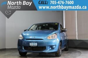 2015 Mitsubishi Mirage ES Manual with One Owner and Clean CarPro