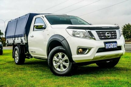 2018 Nissan Navara D23 S3 RX 4x2 White 6 Speed Manual Cab Chassis Wangara Wanneroo Area Preview