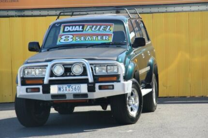 1994 Toyota Landcruiser FZJ80R GXL Green 4 Speed Automatic Wagon Cheltenham Kingston Area Preview