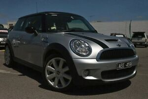 2008 Mini Hatch R56 Cooper S Chilli Silver 6 Speed Manual Hatchback Dandenong Greater Dandenong Preview
