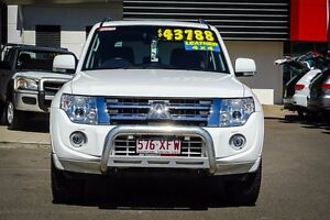 2014 Mitsubishi Pajero NW MY14 VR-X White 5 Speed Sports Automatic Wagon Garbutt Townsville City Preview